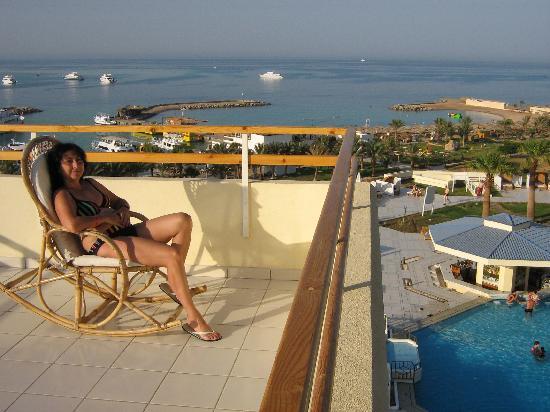 Hilton Hurghada Plaza: Hilton room balcony