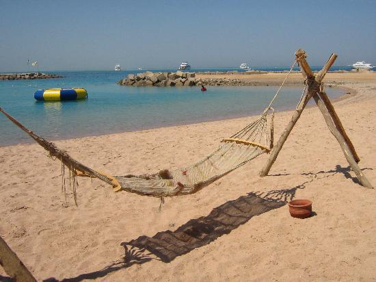 Hilton Hurghada Plaza: Beach hammock