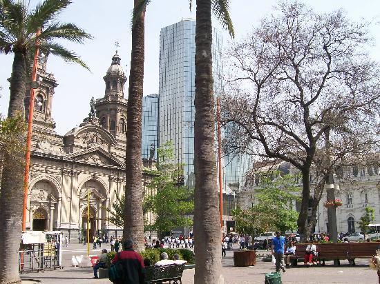 Santiago, Chile: Plaza de Armas