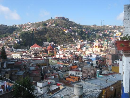 La Casa Azul: View from the Upper Terrace