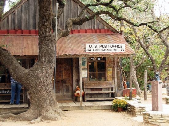 Luckenbach Tx Possibly The Smallest Town In Texas