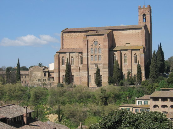 Siena, İtalya: Church of San Domenico