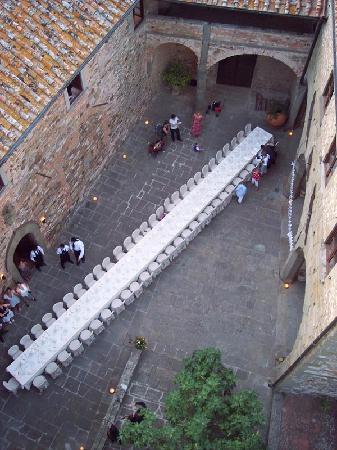 Castello di Mugnana B&B : also appopriate for your weddingdiner