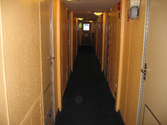 Rygerfjord Hotel and Hostel: Corridor