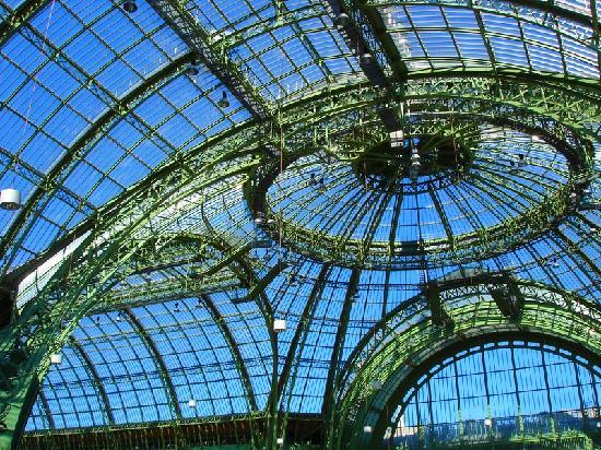 Glass Roof Of The Great Palace Picture Of Paris Ile De France