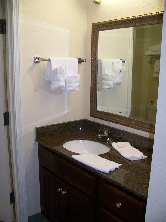 Staybridge Suites Kalamazoo: The Bathroom Vanity