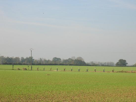 Centre Historique Medieval - Azincourt: English long-bow archers at the Field of Agincourt, Nord-Pas-de-Calais, France