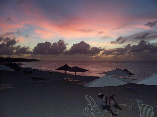 Anguilla: Coucher de Soleil