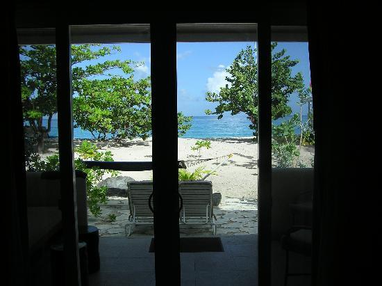 Spice Island Beach Resort : View from inside Seagrape suite