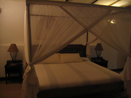 Kigongoni Lodge: our bed