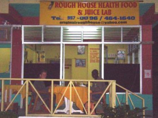 The Original Rough House Health Food And Juice Lab