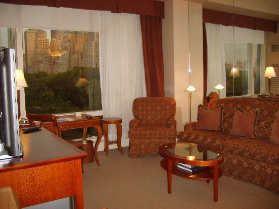Trump International Hotel and Tower New York: The lounge