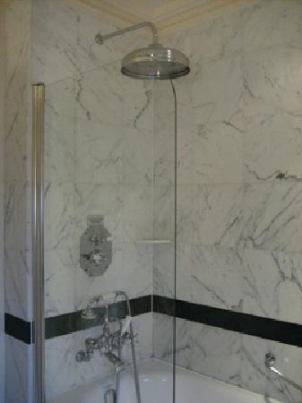 The Savoy: Huge Shower Head