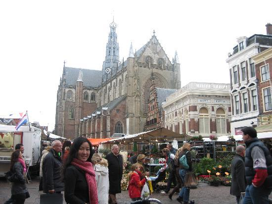 Haarlem, Holland: Grote Markt