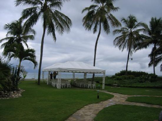Cabarete Beach House at Nanny Estates: Wedding tent