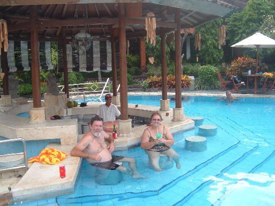 At The Swim Up Bar Picture Of Sol House Bali Kuta By Melia