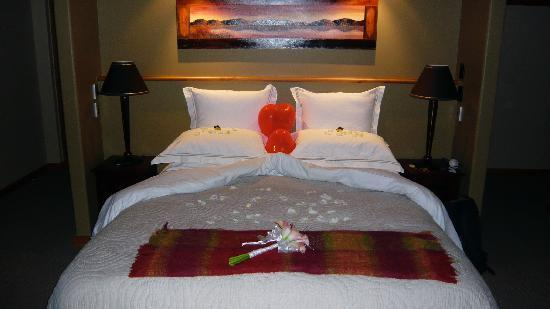 Bluewater Lodge: Special touches!