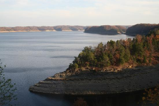Jamestown, Кентукки: Lake Cumberland State Resort Park- Lake Cumberland