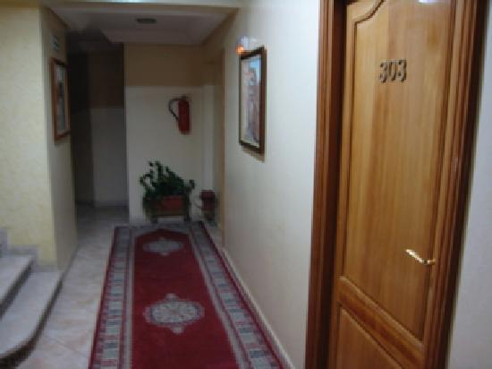 Hotel Perla: The corridor