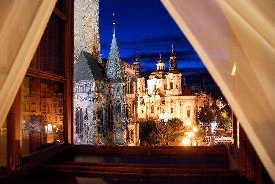 Grand Hotel Praha: Aussicht aus dem Zimmer