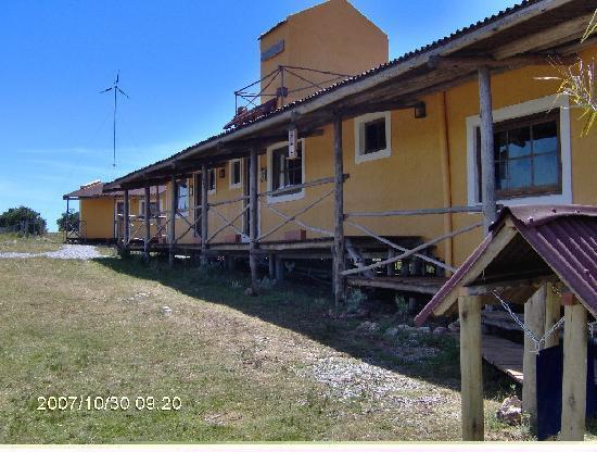 La Salamora: Area lateral de la posada