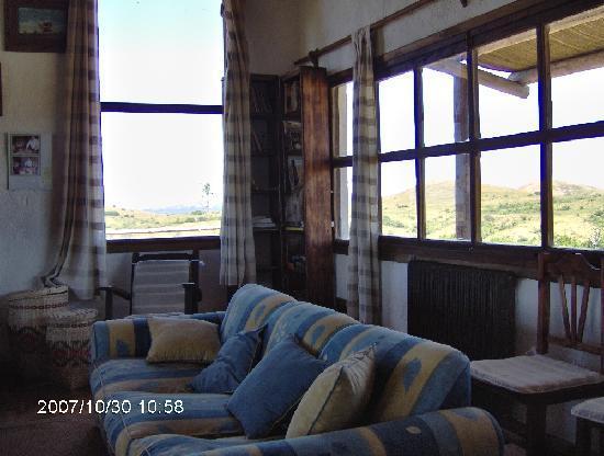 La Salamora: Sala de estar