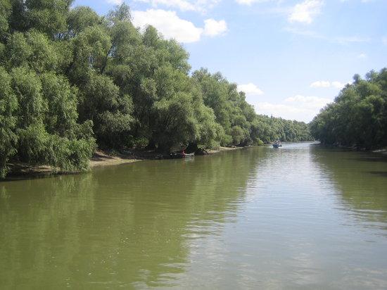 Tulcea, Rumunija: danube delta