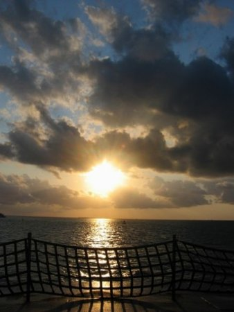 Hatteras to Ocracoke at Sunset