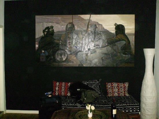 La Casa BXL: View of our room