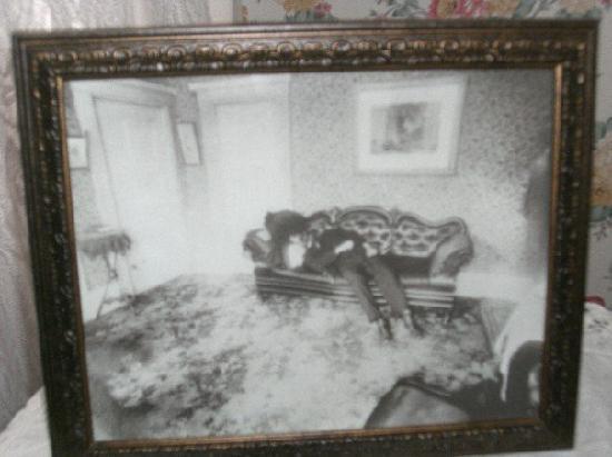 Fall River, ماساتشوستس: Mr. Borden - crime scene photo