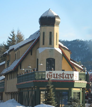 A landmark in Leavenworth