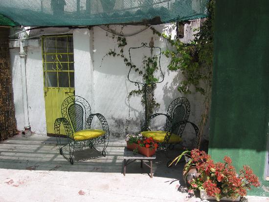 Casa Jardin : Rooftop door