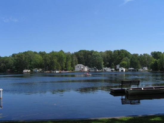 K's Edgewater Resort: View from one of the cabins - this is the middle bayou