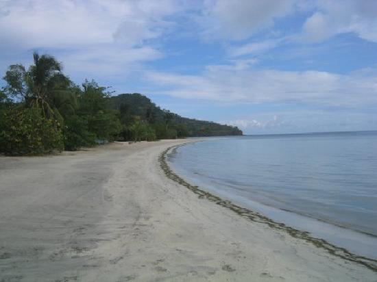 Isla de Providencia, Colombia: Deserted beach