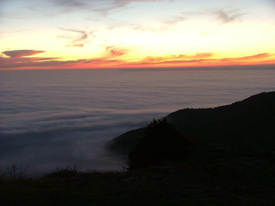 Dardanelle, Арканзас: Sunrise from cabins in the clouds