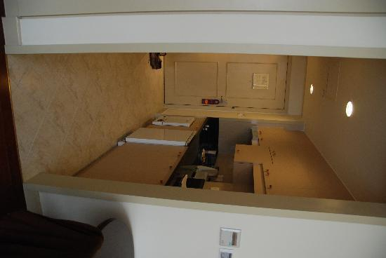 Green Court Serviced Apartment: Closeup of kitchenette