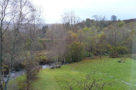 Roineabhal Country House: View from our bedroom window