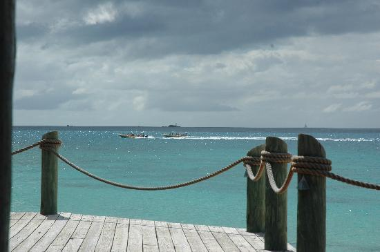 Galley Bay Resort : From the bar