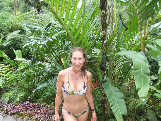 COMO Shambhala Estate : Me on the trail by their HOLY SPRING onsite