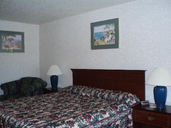 Milpitas Inn : King size bed