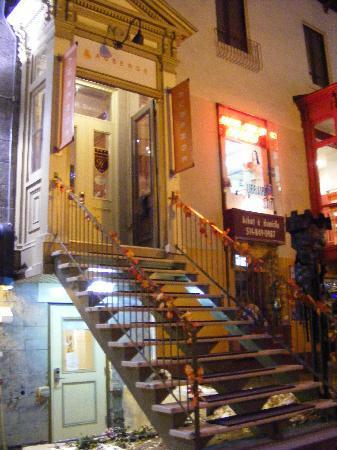 Hotel Montreal Espace Confort: entrée de l'auberge