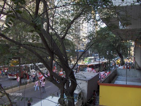Hotel Excelsior Sao Paulo : Vista del frente del hotel