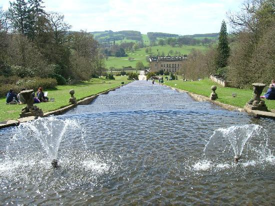 Bakewell United Kingdom  city pictures gallery : Lion, Chatsworth House, Bakewell, Derbyshire, England, United Kingdom ...