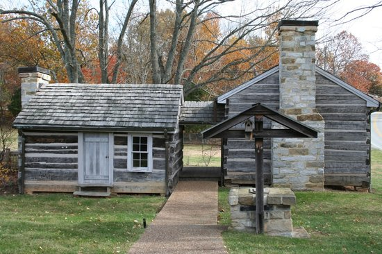 Byrdstown, TN: Cordell Hull State Historic Site- Cabin