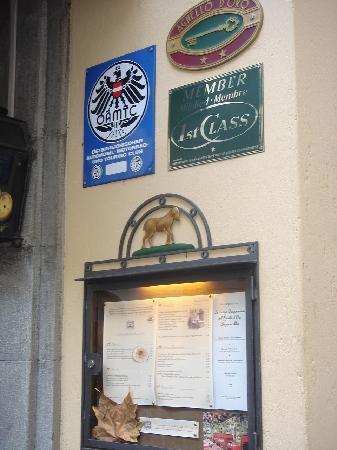 Hotel Agnello d'Oro: Hotel restaurant