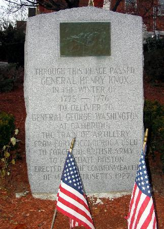 Marlborough, MA: a grave and memorial for a general