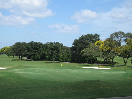 Arnold Palmer's Bay Hill Golf Club: View of the golf course