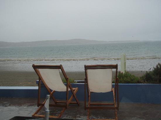 Las Restingas Hotel de Mar: view from the restaurant