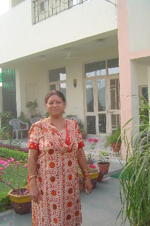 Garden Villa Homestay: la femme du propriétaire
