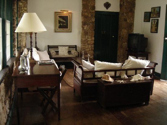 Pousada da Marquesa: One of the several common rooms
